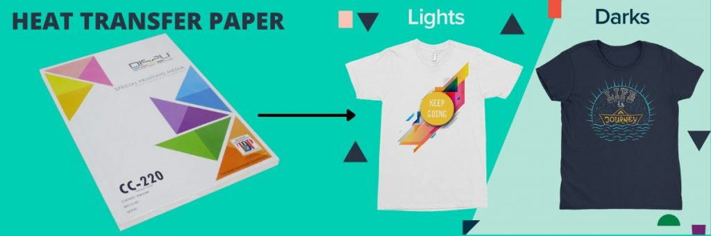 Heat transfer paper for t shirts